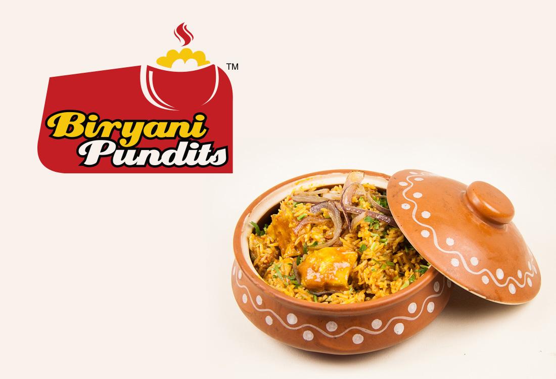Biryani Pundits Logo Venkidesigns