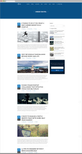 Exotel Website Inner Page Design